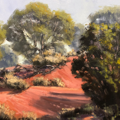 Learn to Paint Landscapes In Oils with John Rice