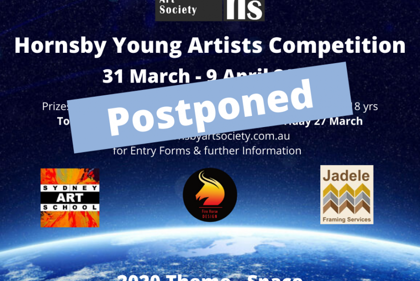 POSTPONED – 2020 YOUNG ARTISTS COMPETITION